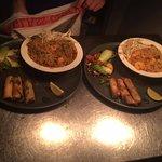 Pad Thai Noodles & Singapore Vermicelli