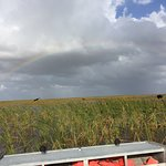 Out on a 30 min airboat ride. Very nice ride with capt. Bob!
