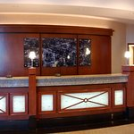 Drury Plaza front desk