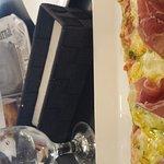 Pizza et fish n chips, menu midi avec soupe ou salade