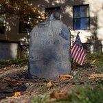 Paul Revere's head stone.