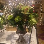 Lobby flower arrangement