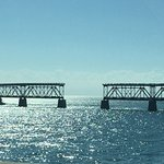 The old Flagler Railroad bridge to Key West