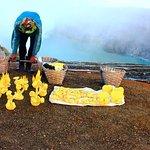 the sulfur miners of eastern java