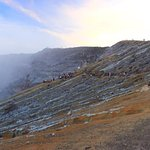 ijen in the morning