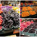 """The elongated """"grapes"""" are called """"moon drops"""". Also, """"golden berries""""."""