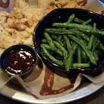 Chicken tenders and green beans