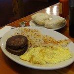 huge breakfast