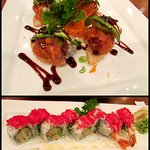 Sushi Pizza and Humble Prince Prawn Roll