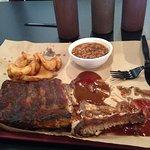 Good dang tender scrumptious ribs! 10-4