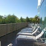 Outside lounge area off the pool area