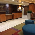 Fairfield Inn & Suites - Front Desk area