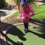 18 hole mini golf course.