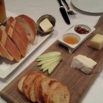 cheese plate and bread