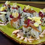 The Makito Roll - A wonderful, tasty and vegetarian creation!