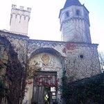 Villa Cimbrone: cinquecentesco portale d'ingresso