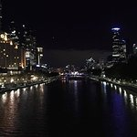 View of hotel from the Yarra