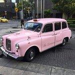 Classic hotel car.