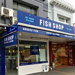 Mt Eden Village Fish Shop -Road Front