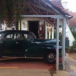 1948 Chevrolet Fleetmaster parked at Lymond House