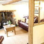 Poston Cottage cosy living room