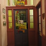 the door to the chill out room - music room