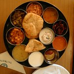 South Indian Thalli in room service