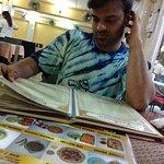 ordering dinner at kohinoor 2