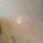Flecken auf dem teppich