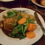 Steak and Kidney Suet Pudding Main Course