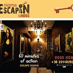 Lindos Princess Escape Rooms in South Rhodes Book now :  +30 22440 29230
