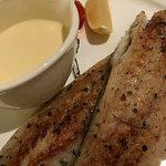 sea bass with lemon butter sauce