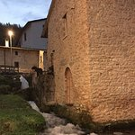 "The ""weavers"" village of Rasiglia at dusk."