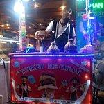 The turkish ice cream man