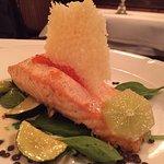 Salmon & Caviar Entree