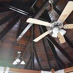 Sky Cottage ceiling