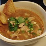 Tom Yum Kung Noodle Soup