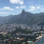 Christ the Redeemer in the background.