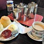 Great Cornish clotted cream tea