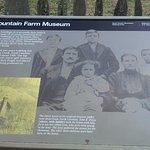 plaque detailing the place