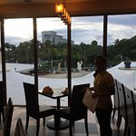 Window Seating View Toward Hard Rock, Gianni's and Hilton