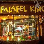 falafel king shop o cotham hill. amazing decor.