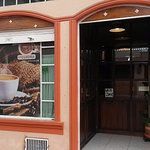 Cafe Street Entrance