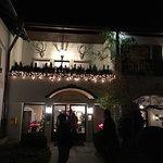 Gasthof at night :) Michelin Star too :)