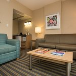 Many of our west wing suites have a separate living area with a pullout sofa.