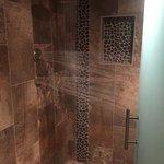 Spa Area Locker Room Rain Shower with Body Sprays
