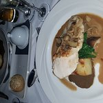 Stunning meal at berties resturant 👌