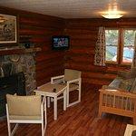 Two bedroom hillside log cabin #5