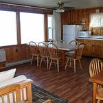 Kitchen / living room of Three bedroom lakeside cottage (H)