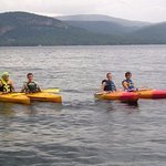 Explore the lake in one of our kayaks!
